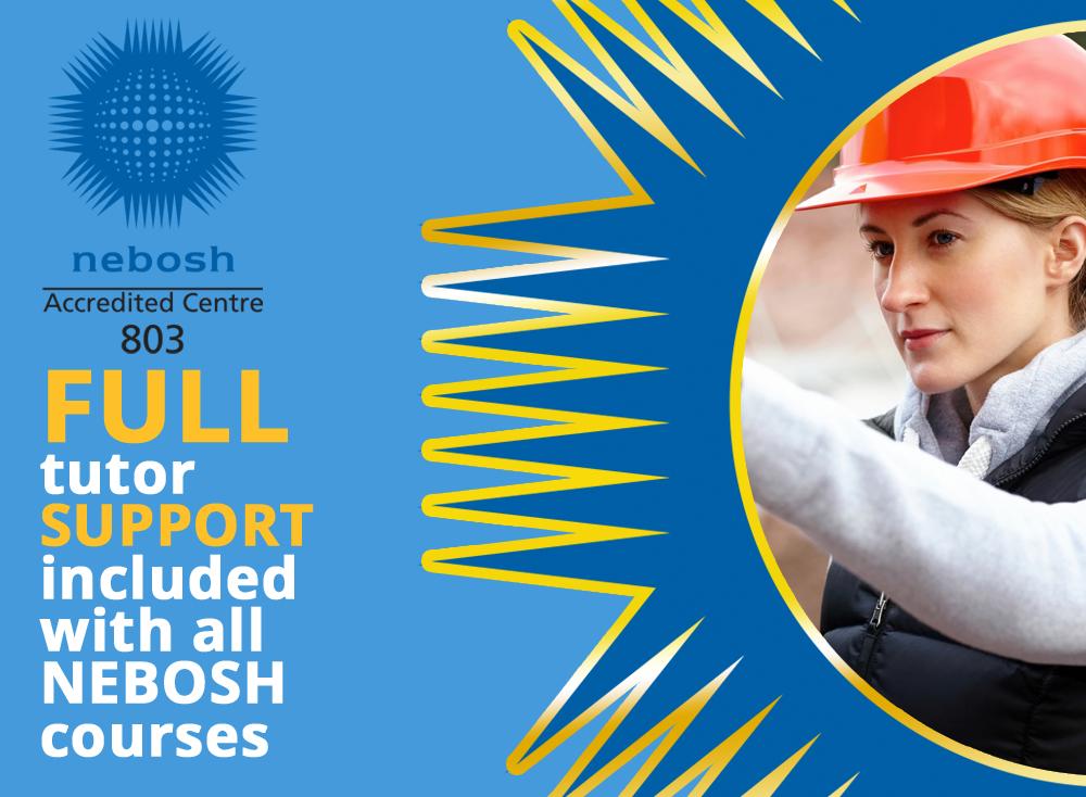Full tutor support for NESBOSH courses
