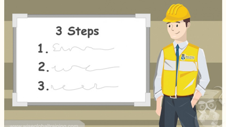 iosh-training-three-steps