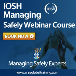 IOSH Managing Safely Live Online Course