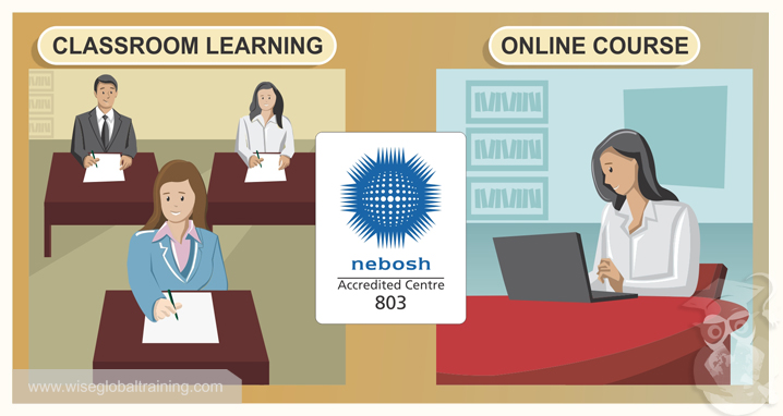 Advantages Of NEBOSH General Certificate Online Training Over Traditional Classroom Sessions