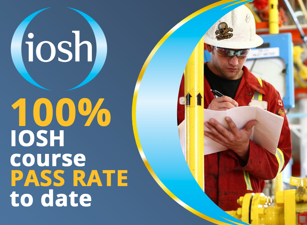 IOSH 100% course pass rate