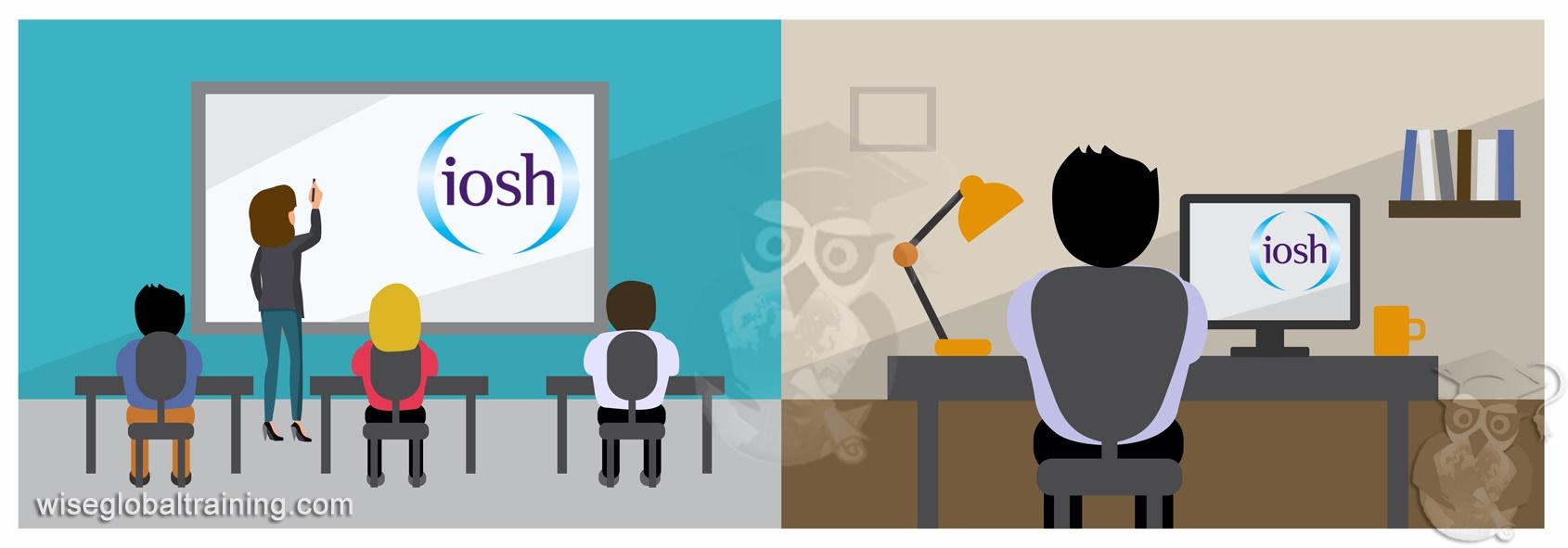 IOSH Classroom vs eLearning