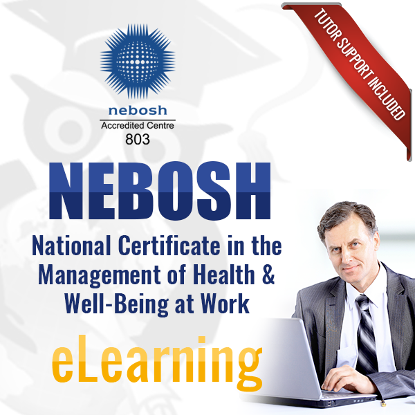 NEBOSH National Certificate In The Management Of Health Well Being At Work