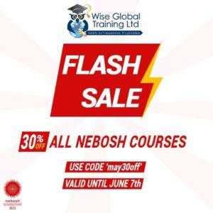 NEBOSH Flash Sale